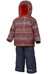 Columbia Buga Set Toddlers Super Blue Fairisle